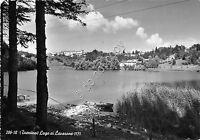 Cartolina - Lago di Lavarone 1955
