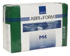 Abena 4163 M4 Medium Abri-Form X-Plus Brief Adult Diaper Plastic Samples NEW 2pc