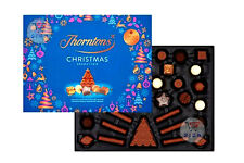 NEW COLLECTION OF THORNTONS CHRISTMAS SELECTION CHOCOLATE GIFT BOX 418g