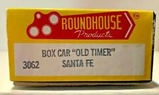 ROUNDHOUSE 3062 HO OLD TIMER SANTA FE  36' BOXCAR GOOD CONDITION