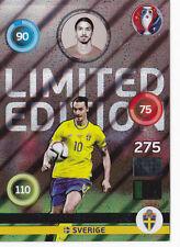 Panini Adrenalyn XL UEFA EURO 2016 - Limited Edition Shiny Zlatan Ibrahimovic