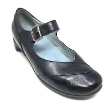 Women's Wolky Mary Jane Pump Heels Loafers Shoes Size 39 EU/8 M US Black AH12