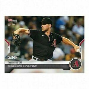 2021 Topps Now #661 Tyler Gilbert Throws No-Hitter in 1st MLB Start 04