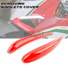 Removing Front Wing Spoiler Winglet Aerodynamic Kits for Ducati Panigale V4 V4R
