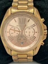 Michael Kors MK5503 Women's Watch Chronograph Rose Gold 43mm Case Quartz D522