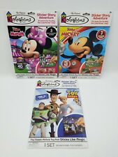 Colorforms Disney Mickey Mouse Minnie Mouse and Toy Story lot of 3