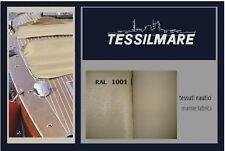 TESSUTO NAUTICO BISPALMATO BEIGE PER TENDALINO / COPERTURE / TELO CAPPOTTINA