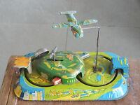 Vintage Wind Up Central Station Litho  Tin Toy , Japan ?