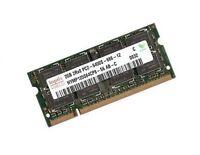2GB HYNIX DDR2-800 Mhz SO-DIMM 800Mhz RAM PA369U-1M2G