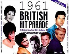 NEW 1961 British Hit Parade Part 1: Jan-April (Audio CD)