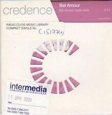 (BA240) Credence, Bel Amour - 2001 DJ CD