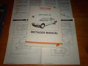 Body Repair Manual BMW 3 Series E36 1991 - 96
