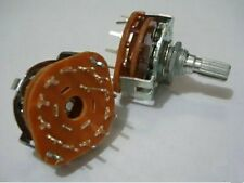 1xRotary Switch Potentiometer 1 Pole 12 Position,12P
