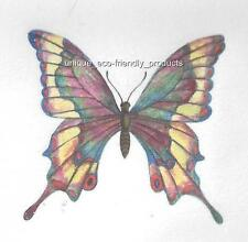5 LOT YELLOW AND GREEN  BUTTERFLY Temporary Tattoo YOU WILL RECEIVE 5