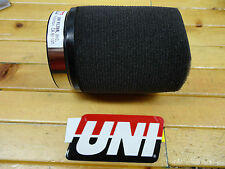 "UNI UNIVERSAL POD AIR FILTER FITS 63mm OR 2 1/2"" CARB FLANGE FREE SHIPPING"