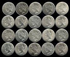 1 Roll__Mixed Peace Silver Dollars__AU-BU__#930KD7