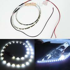 2PCs Waterproof Flexible White 24 inches 30-SMD LED Side Shine Strip Lights #32