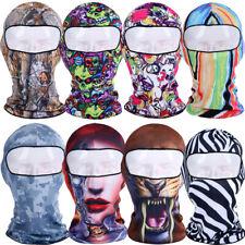 THIN Ski Mask Full Face Mask Beanies Cap Balaclava Head Wrap Neck Hood US