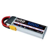 """11.1V Battery Punisher Series /""""Shorty Pack/"""" 3700mah 100C 3cell Lipo Traxxas"""
