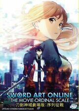 Sword Art Online the Movie: Ordinal Scale DVD with English Subtitle