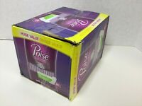 Poise Daily Incontinence Panty Liners, Very Light Absorbency, Regular, 126 Count
