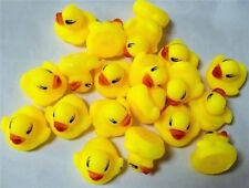 100pcs/lot Bath Duck Sound Floating Rubber Ducks Toy Rubber Duck Classic Toys