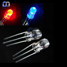 20PCS LOT 5mm Bi-Color Red Blue Bright 3-Pin Water bulb Led Common Anode
