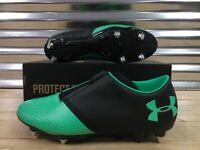 Under Armour Spotlight Hybrid SG Soccer Cleats Green Black SZ ( 1289530-003 )