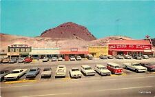 1960s Boulder City Nevada Gold Strike Inn Teich autos postcard 9442