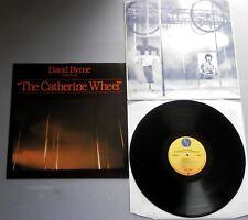 David Byrne-CATHERINE WHEEL 1981 german sire LP avec pochette intérieure