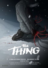 "013 THE THING - Kate Lloyd Horror Moster Movie 24""x33"" Poster"