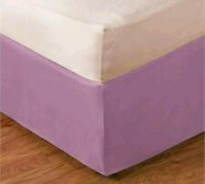 New Purple Lilac Soft King Bedskirt