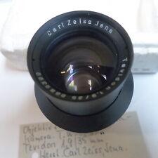 CARL ZEISS JENA DDR Objektiv Lens TEVIDON 1,9/35 für DDR T.W. Stasi Selten