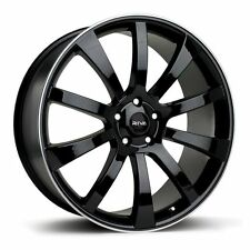 "20"" Vw T5 /Amorak/Toureg-Range Rover-Bmw x5-Riva Suv Black Alloy Wheels"
