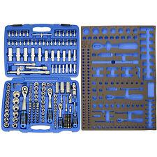 Caja de Herramientas 192 Piezas y Bandeja para Carro - Bgs 2243