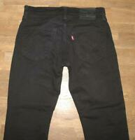"WOW!!! LEVI`S 511 JEANS / LEVIS Blue- Jeans in schwarz in W31"" /L30"""