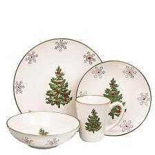 Christmas Ceramic Dinnerware Set Dinner Plates Bowls Mugs