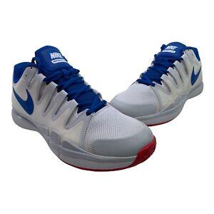 Nike Zoom Vapor 9.5 Men's Size 10 White Tour HC Athletic Tennis Shoes 631458-114