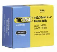 "Tacwise 16g 30mm 1 1/4"" Finish Nail 2500 84077"
