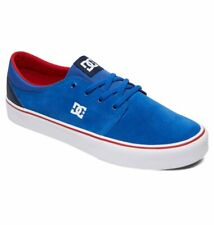 Tg 42 - Scarpe Uomo Skate DC Shoes Trase SD Blue Navy Red Sneakers Schuhe 2019