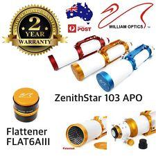 William Optics ZenithStar 103mm f/6.9 Imaging APO Refractor - 2 years warranty