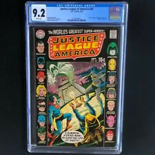 "Justice League of America #83 (1970) 💥 CGC 9.2 💥 ""Death"" of Spectre! DC Comic"