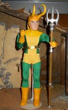 1/6 Kitbashed Captain Action Dr. Evil as LOKI - Brother Of THOR Loose
