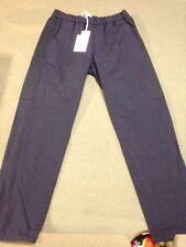 Robert Geller Navy Black Nylon Lounge Pants Euro Size 48 Casual  MSRP$150
