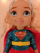 """DC Super Hero Girls Supergirl Toddler Doll Girl Baby 15"""" w/ Outfit & Boots"""
