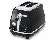 Delonghi CTO2001BK Icona 2 Slice Toaster - Black
