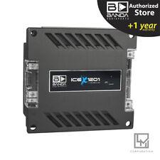Banda Audioparts ICE X1201 1200 WRMS 1-CH / Monoblock Car Audio Amplifier 3 Day