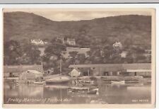 Somerset; Pretty Harbour Of Porlock Weir PPC, Unposted by Frith
