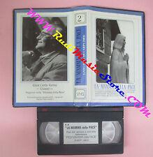 VHS film LA MAMMA DELLA PACE Gian Carlo Varini 45 minuti 2° (F150) no dvd