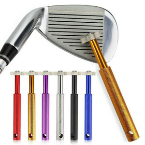 Golf Club Wedge & Iron Groove- Sharpener Regrooving Cleaner Kit Cleaning Tool
